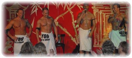 Men4You : agence de striptease - striptease - chippendales - enterrement de vie de jeune fille