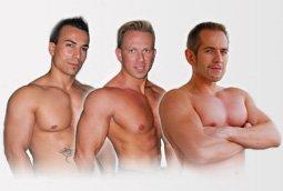 nos stripteaseurs - brian - tony - kim - james