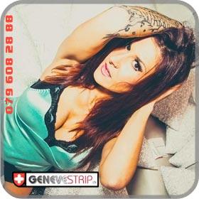 Eva Bern Stripteaseuse