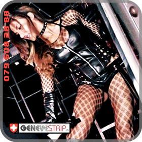 Eva Bienne Stripteaseuse