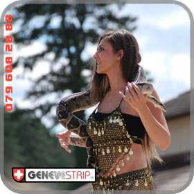 Eva Bulle Stripteaseuse