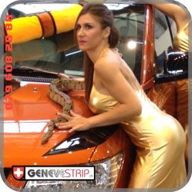 Eva Vevey Stripteaseuse